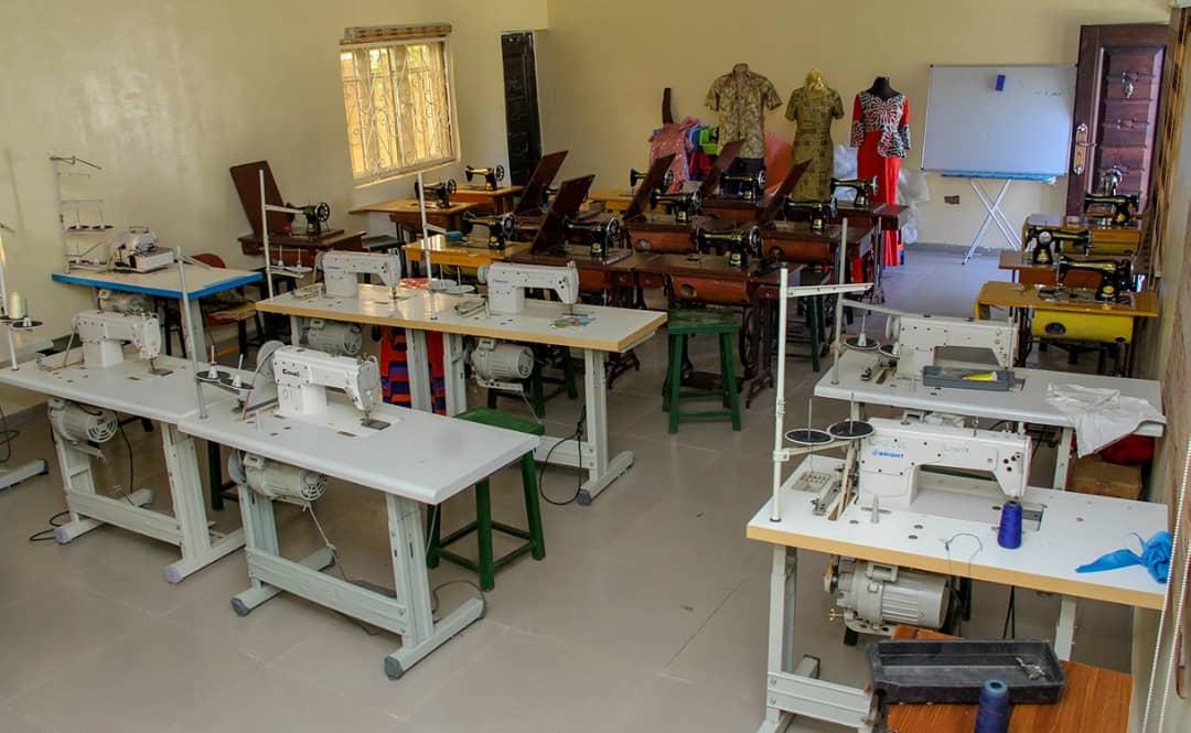 LMF-CVI Garment making training room(2)